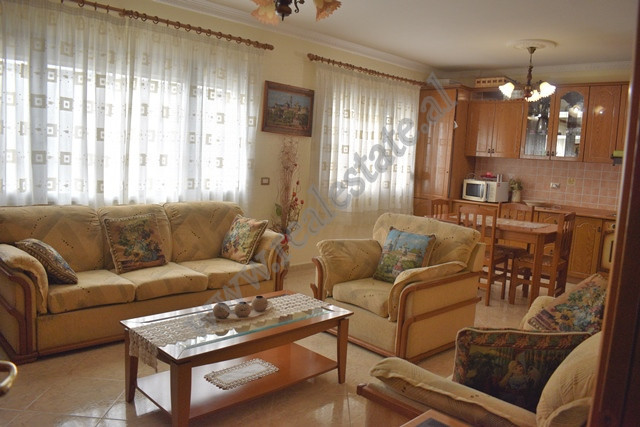 Two bedroom apartment for rent in Karl Topia complex in Zogu i Zi area in Tirana.