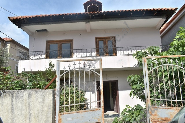 Two storey villa for sale on Stavri Themeli Street in Tirana. The villa has a land area of 30