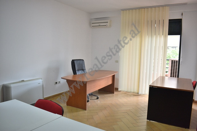 Apartment for office rent on Ibrahim Rugova street in Tirana. 