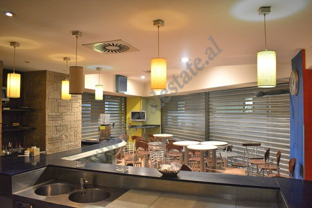 Bar-Restaurant for rent close to the center of Tirana. The space is situated on the second fl