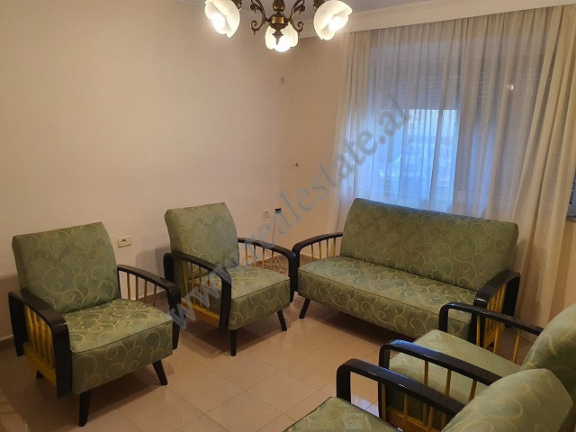One bedroom apartment for rent in Brigada VIII street in Blloku area in Tirana.