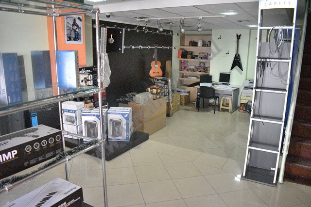 Store space for rent in Pjeter Budi street in Tirana, Albania