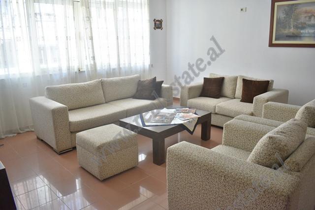 Three bedroom apartment for rent close to Myslym SHyri street in Tirana, Albania The apartment is l