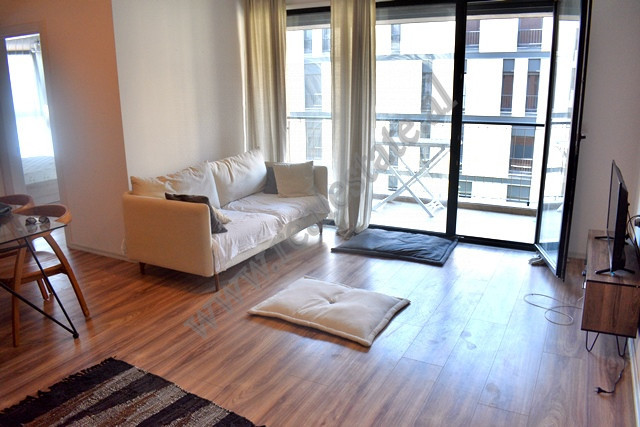 Two bedroom apartment for rent in Panorama Street in Tirana. The flat is situated on the third floo