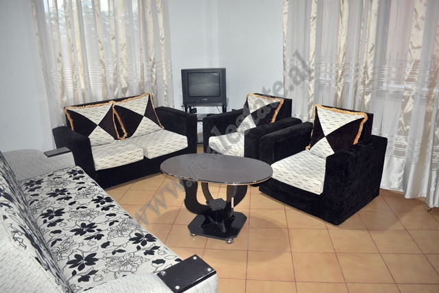 Two bedroom apartment for rent in front of Qazim Turdiu School in Tirana, Albania  It is located o