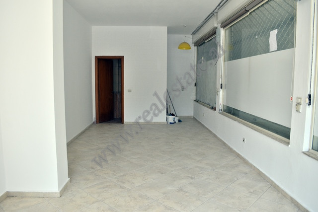 Store space for sale in Ali Visha street in Tirana, Albania.