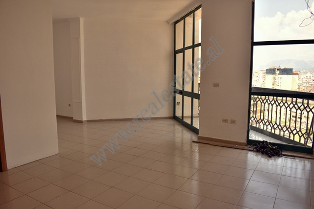 Duplex apartment for rent in Kavaja street in Tirana, Albania. It is located on the 7-th floor of a