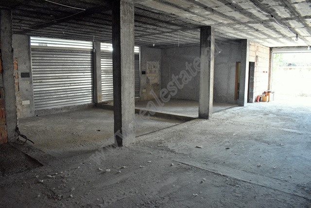 Warehouse for rent near Teodor Keko street in Tirana, Albania.