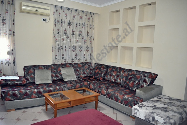 One bedroom apartment for rent in Gjon Muzaka street in Tirana.