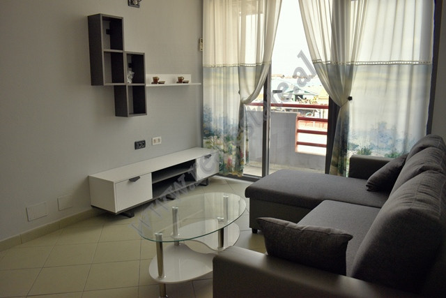 One bedroom apartment for rent in 29 Nentori street in Tirana.
