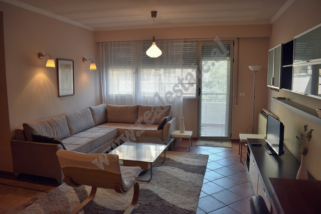 Two bedroom apartment for rent near Dinamo stadium in Tirana, Albania.