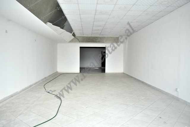Store spaces for rent in 29 Nentori Street in Tirana.