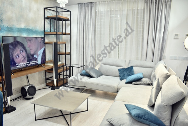 Modern two bedroom apartment for rent in Shyqyri Brari street in Tirane.