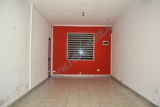 Storee for rent in Durres Street, on first floor by the main road with a staircase. The total space