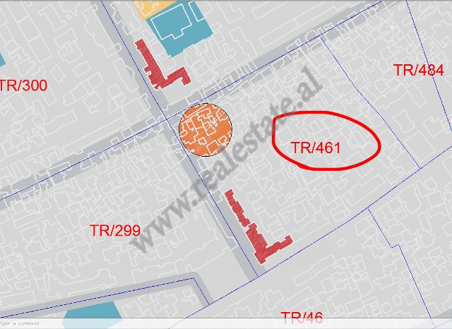 Land for sale which is located on Ali Baushi Street.