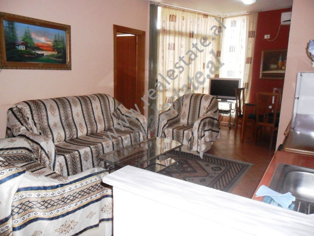 Apartment for rent in Muhamet Gjollesha Street in 21 Dhjetori area in Tirana , Albania.