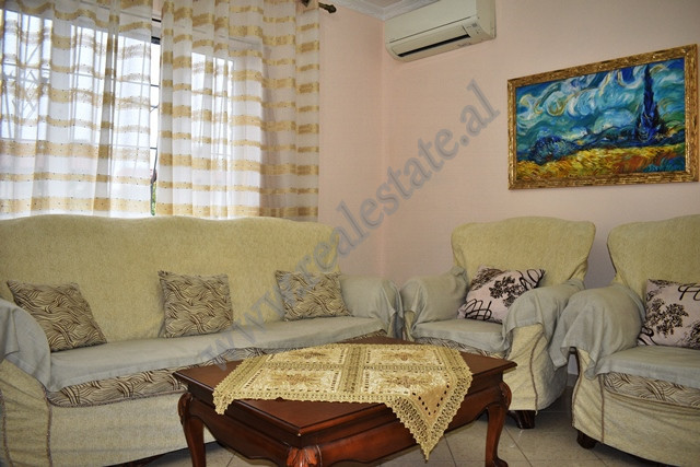 Apartment for rent in Myrteza Topi Street in an existing building without an elevator.