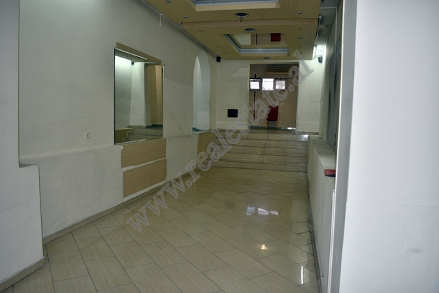 Store space for rent on the main road of Myslym Shyri street in Tirana, Albania