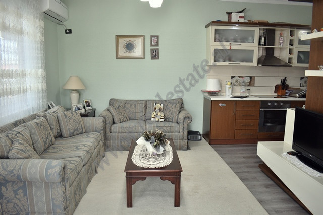 Two bedroom apartment for sale in 3 Deshmoret street in Tirana, Albania. The apartment is situated
