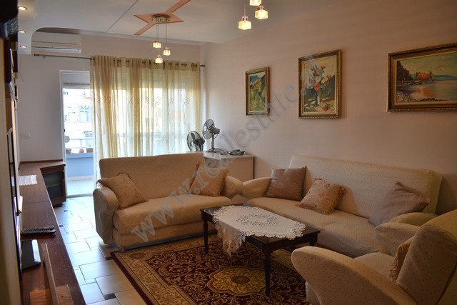 Two bedroom apartment for rent in Mahmut Fortuzi in Tirana.
