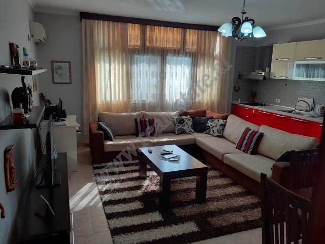 Two bedroom apartment for sale in Vllazen Huta street in Tirana. The apartment is situated on the t