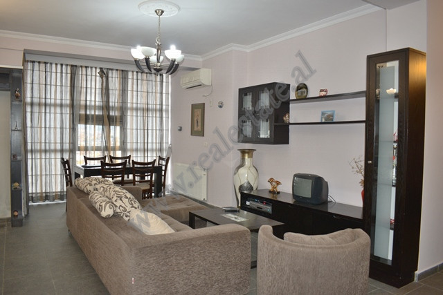 Two bedroom apartment for rent, close to Alpha Bank, in Teodor Keko street in Tirana.