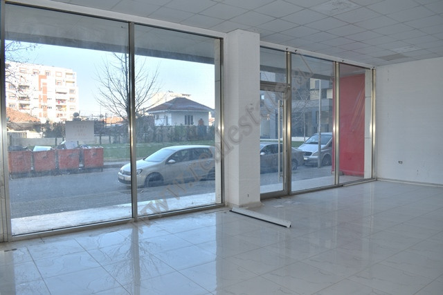 Commercial space for rent near Asim Vokshi street in Tirana, Albania.