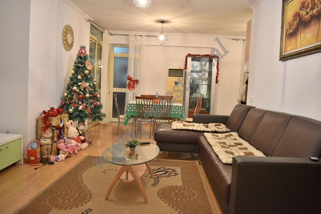 Two bedroom apartment for rent in Eduard Mano Street in Tirana. The apartment is situated on the fi