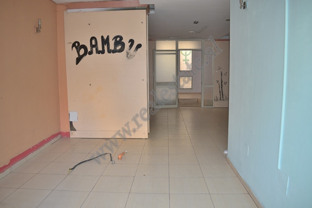 Store space for rent close to Kavaja street in Tirana, Albania.