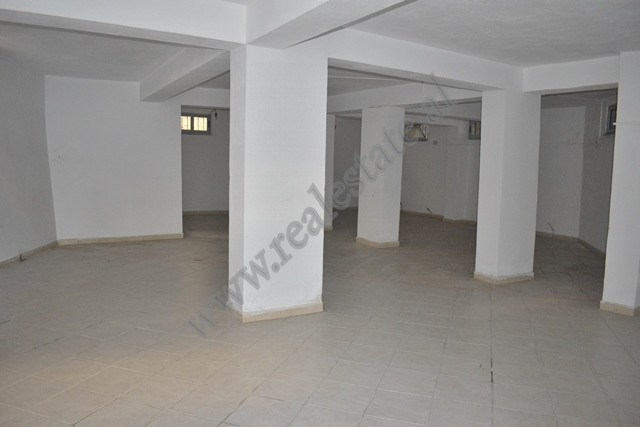 Warehouse for rent near Kavaja Street in Tirana.