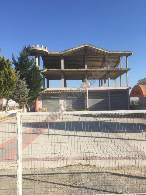 3-storey building for sale near Rinas Airport in Tirana, Albania.  It has a land surface of 670 m2