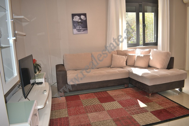One bedroom apartment for rent near Sami Frasheri street in Tirana, Albania.