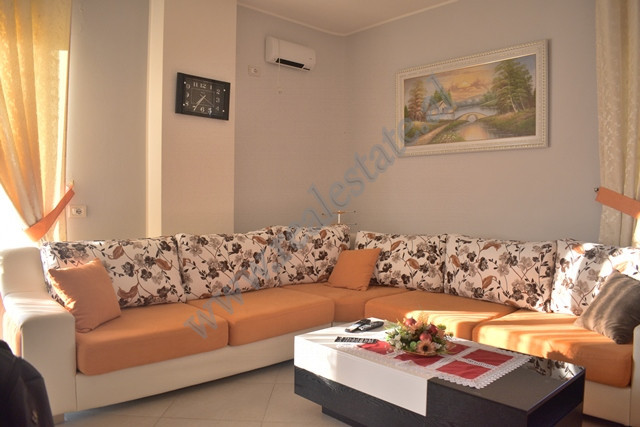 Two bedroom apartment for rent in the begining of Pandi Dardha street in Tirana.