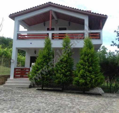 Two storey villa for sale near Teatri Kame resort in Pellumbas, Tirana.