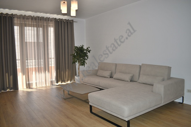 Modern three bedroom apartment for rent in Ibrahim Rugova street in Tirana, Albania.