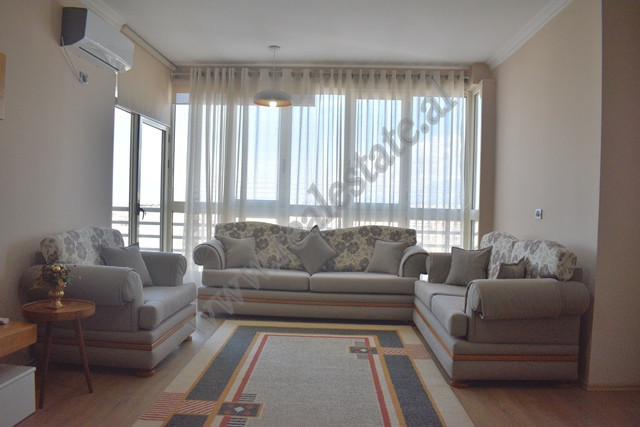 Two bedroom apartment for rent in Panorama Street in Tirana. The apartment is located on the 11th