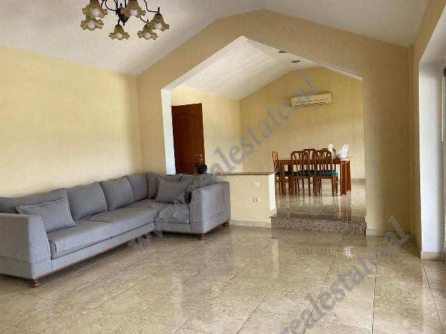 Three bedroom apartment for rent in Liqeni i Thate area in Tirana.  Positioned on the 7th and the