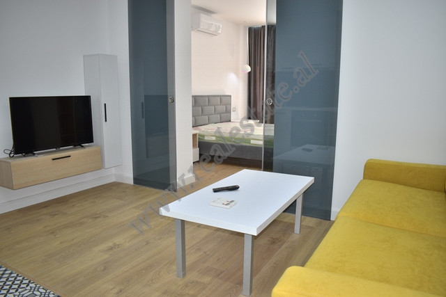 Modern one bedroom apartment for rent near Mine Peza street in Tirana, Albania