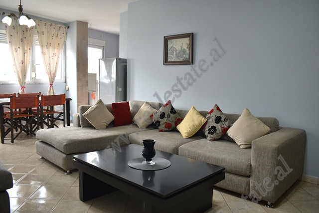 Apartment for rent close to 21 Dhjetorit area The apartment is positioned on the 5th floor of a new