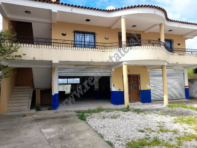 Two storey villa for sale in Halit Bega Street in Tirana. The villa has a land area of 496 m2 and a