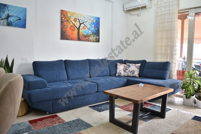 Two bedroom apartment for sale in Don Bosko street in Tirana. It is located on the 7th and last flo