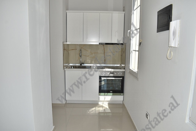 Studio apartment for rent in Jorgo Plaku street, in Tirana.