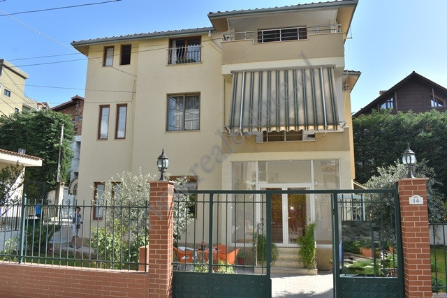 Three-storey villa for sale near Fuat Toptanistreet, in Tirana. The land's surface is 3