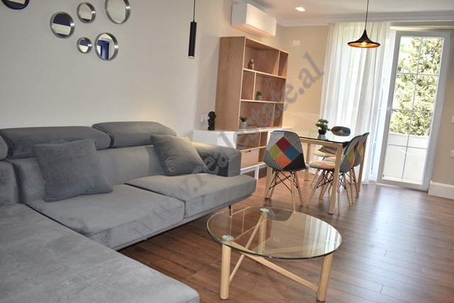 One-bedroom apartment for rent in Nikolla Tupe street in Tirana. It is positioned on the fourth flo