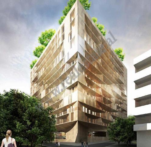 Apartament 1+1 per shitje ne rrugen Mine Peza ne Tirane. Ka nje siperfaqe totale prej 74.9 m2 dhe n
