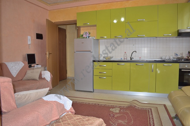 Two-bedroom apartment for sale in Fresku zone in Tirana. The house is on the second floor of a ne