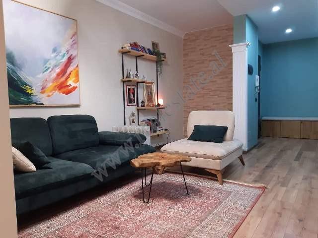 Two-bedroom apartment for rent in Xhanfize Keko street near Xhamlliku zonein Tirana. The ap