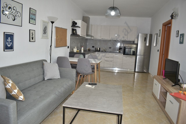 Apartment for rent close Kavaja Street in Tirana.  The apartment is situated on the 8th floo