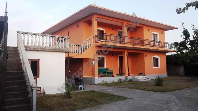 Two storey villa for sale in Gryke Lumi area in Lezhe, Albania.  The villa is located about 500m f