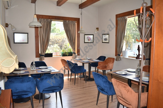 Bar Restaurant for rent in Fortuzi Street in Tirana Located on the first floor of a villa. It has